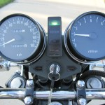 Kawasaki KZ900 - 1976 - Clocks, Tacho, Speedo, Handlebars and Lights.
