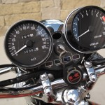 Kawasaki Z1 - 1973 - Clocks, Speedo, Tacho, Ignition Switch and Lights.