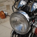 Kawasaki Z1 - 1973 - Headlight, Flasher, Clock Covers and Headlight Ears.