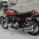 Kawasaki Z1 - 1973 - Frame, Fuel Tank and Exhaust System.