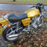 Laverda Jota - 1978 - Sports Seat, Gas Tank and Stainless Exhaust.