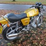 Laverda Jota - 1978 - Sports Seat, Gas Tank and Stainless Exhaust.