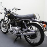 Norton Commando 750 - 1972 - Fame, Seat and Tank.
