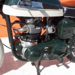 Norton Dominator 88 - 1960 - Exhaust, Cylinder Head, Primary Chain and Brake Pedal.