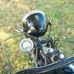 NSU Quick - 1936 - Headlight, Speedometer and Handlebar.