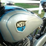 NSU Quick - 1936 - Fuel Tank, Decals and NSU Badge.