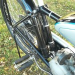 NSU Quick - 1936 - Carburettor, Pedal, Frame and Battery Pack.