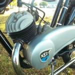 NSU Quick - 1936 - Engine, Cylinder Head, Exhaust and Side Cover.