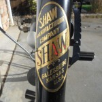 Shaw Motorcycle - 1913 - Original Shaw Badge.