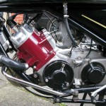 Silk 700S - 1977 - Engine, Cylinder Head, Fuel Line, Crash Bars and Head.