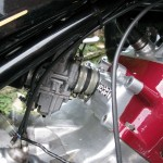 Silk 700S - 1977 - Carburettor, Inlet Manifold and Cylinder Head.