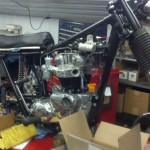 Triumph Bonneville - 1970 - Rebuild, Engine, Frame, Cylinder Head and Kick Start.