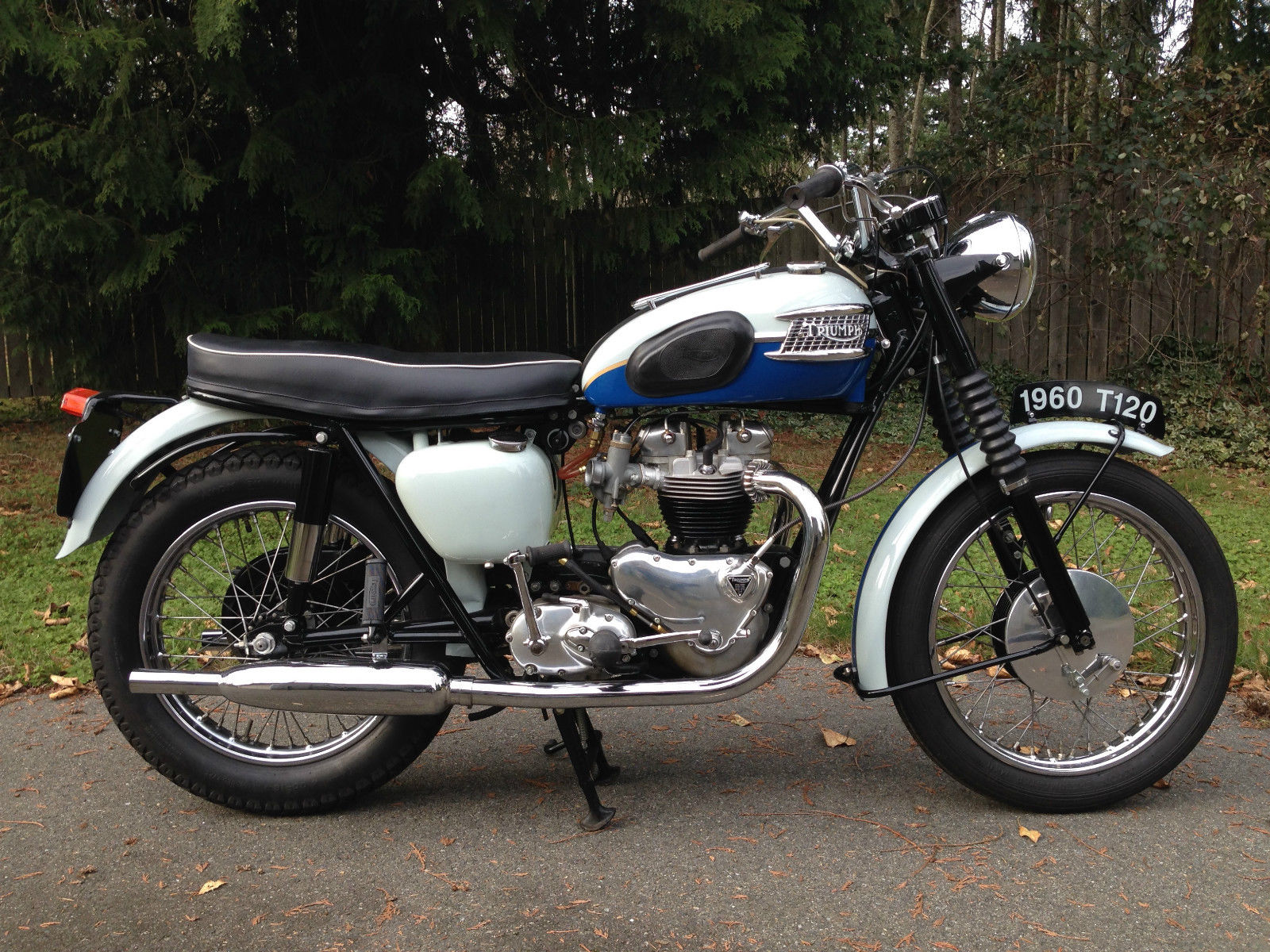 Restored Triumph Bonneville T120 1960 Photographs At