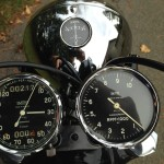 Triumph Bonneville T120 - 1960 - Headlight, Clocks, Speedo, Tacho and Switch.