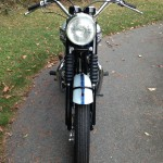 Triumph Bonneville T120 - 1960 - Front Mudguard. Front Wheel and Headlight.