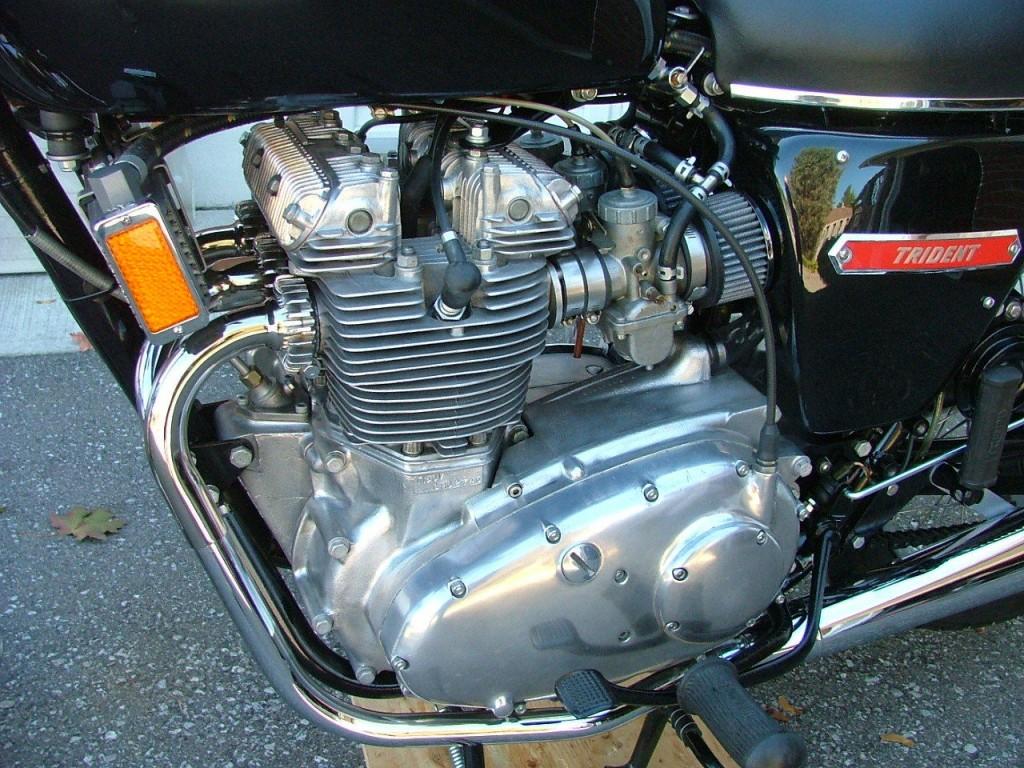 Triumph Trident T140v 1973 Restored Classic Motorcycles At Bikes Restored Bikes Restored