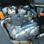 Triumph Trident T140V - 1973 - Engine, Carbs, Cylinder Head and Headers.