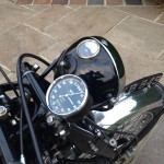Vincent Comet - 1950 - Speedo, Headlight and Gauge.