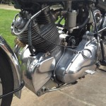 Vincent Comet - 1950 - Motor, Gearbox, Cylinder Head and Transmission.