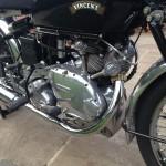 Vincent Comet - 1950 - Engine, Transmission and Valves.