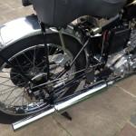 Vincent Comet - 1950 - Exhaust, Frame and Fender.