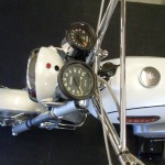 Yamaha DT1 250 - 1968 - Handlebars, Clocks, Speedo, Tacho and Headlight.