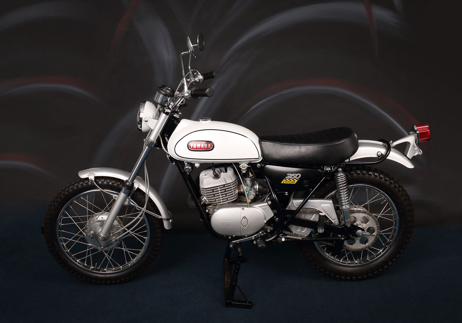 Restored yamaha dt1 250 1968 photographs at classic for Yamaha dt 250 for sale
