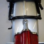 Yamaha DT1 250 - 1968 - Rear Fender, Rear Light and Frame.