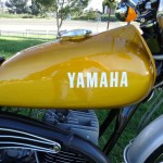 Yamaha DT250 - 1972 - Petrol Tank, Exhaust Shield and Gas Cap