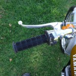 Yamaha DT250 - 1972 - Handlebar, Brake Lever, Grip and Switch.