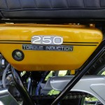 Yamaha DT250 - 1972 - Torque Induction, Oil Tank and Frame.