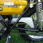 Yamaha DT250 - 1972 - Chain Guard, Frame and Side Panel