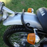 Yamaha DT250 - 1972 -Flashers, Tail Light and Seat.