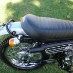 Yamaha DT250 - 1972 - Seat, Fender and Frame.