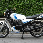 Yamaha RD350LC - 1983 - Fuel Tank, Side Panel, Engine and Seat.