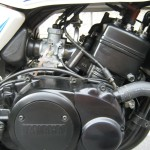 Yamaha RD350LC - 1983 - Carburettor, Cylinder, Cables and Engine.