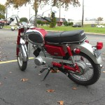 Yamaha YA6 - 1966 - Seat And Frame.