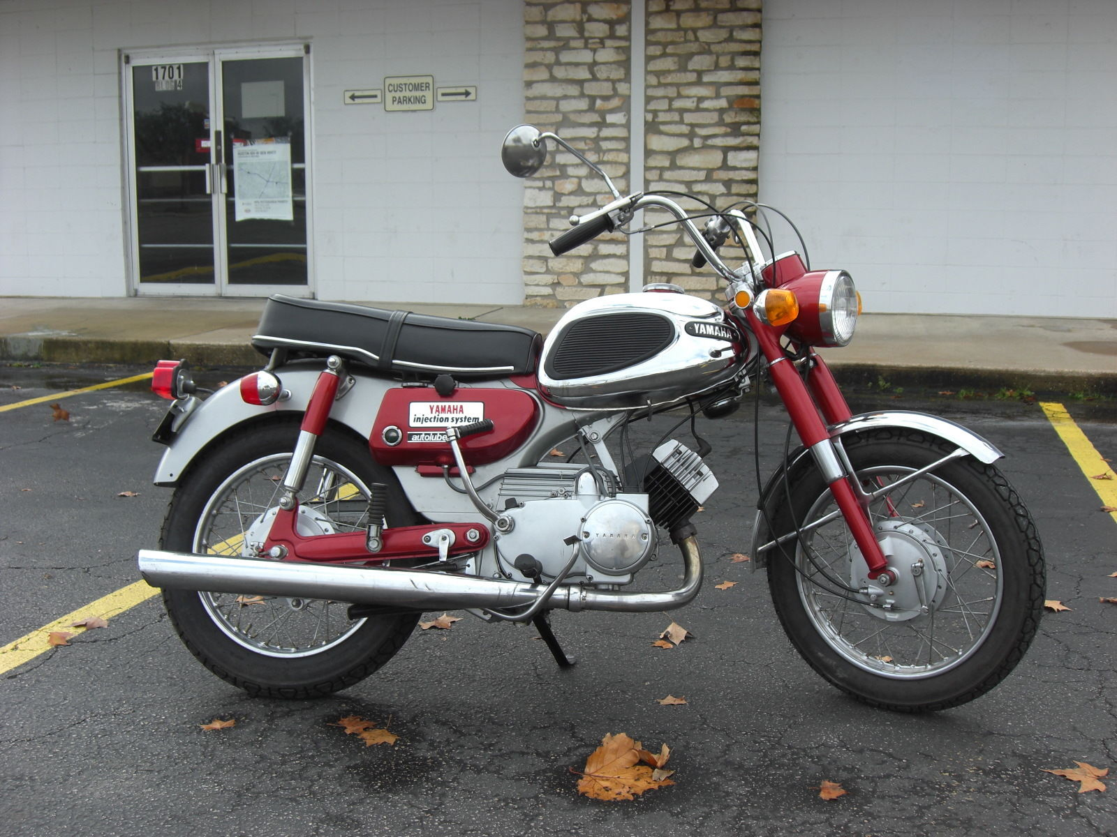 Restored Yamaha Ya6 1966 Photographs At Classic Bikes Restored Bikes Restored