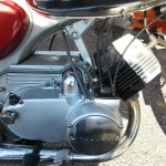Yamaha YA6 - 1966 - Engine, Gearbox, Cylinder Head, Side Cover and Exhaust.