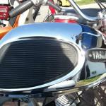 Yamaha YA6 - 1966 - Fuel Tank Detail.