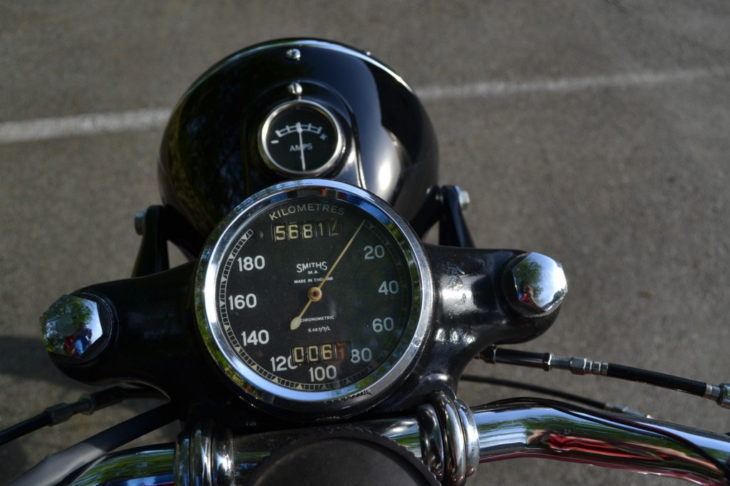 Ariel Square Four - 1952 - Smiths Speedo, Made In England.