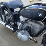 BMW R60/2 - 1967 - Fuel Tank, Seat and Cylinder Head.