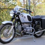 BMW R75/5 - 1971 - Front Forks, Fuel Tank and Seat.