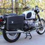 BMW R75/5 - 1971 - Panniers, Seat And Rear Fender.