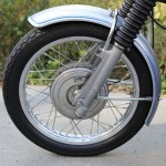 BMW R75/5 - 1971 - Front Wheel, Front Hub and Fender.