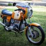 BMW R90S - 1975 - Front Forks, Nose Fairing and Fender.