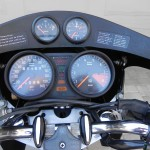 BMW R90S - 1976 - Clocks, Speedo, Tacho, Steering Damper and Gauges.