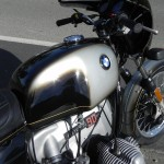 BMW R90S - 1976 - Gas Tank, BMW Roundel, Cylinder Head, and Gas Cap.