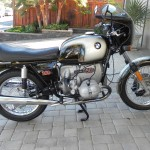 BMW R90S - 1976 - Right Side View, Engine, Frame, Side Panel and Forks.