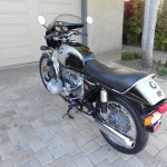 BMW R90S - 1976 - Gas Tank, Saddle, and Mirrors.